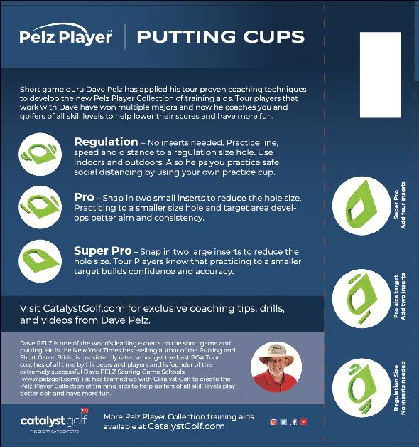 Pelz Player Putting Cup