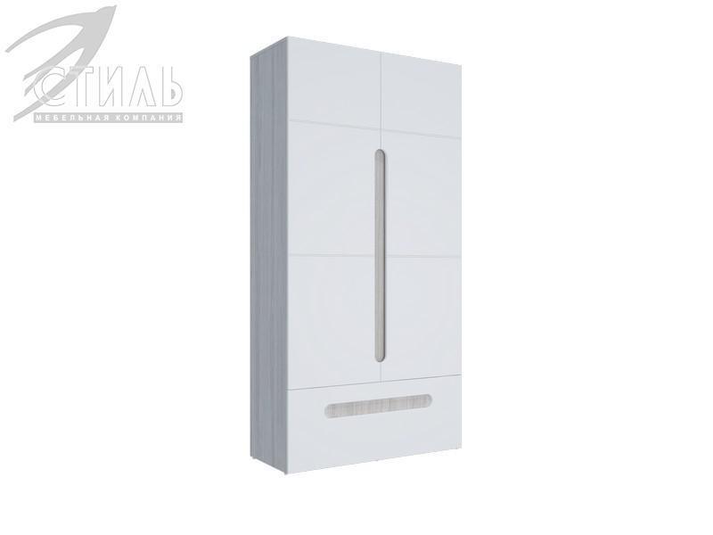 Шкаф 2-х створчатый комбинированный