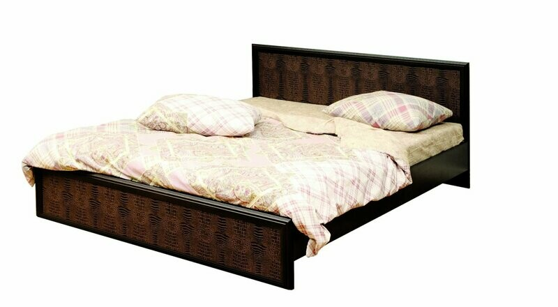 Кровать двойная с настилом 06.259