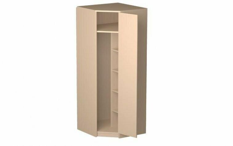 Шкаф угловой 06.23 (каркас) + Дверь МДФ