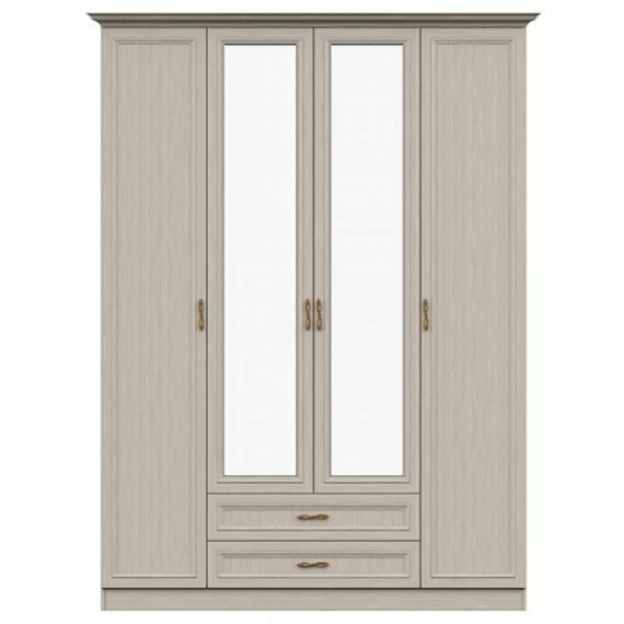 Шкаф 4-х дверный с зеркалом 7.16
