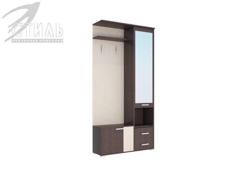 Домино А - Шкаф с зеркалом (1000*2050*323)