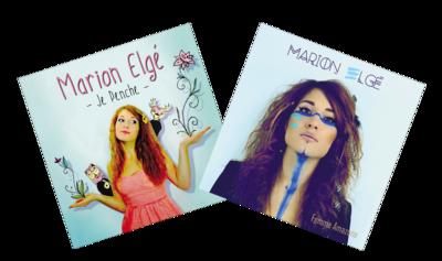 Lot de 2 CD de Marion
