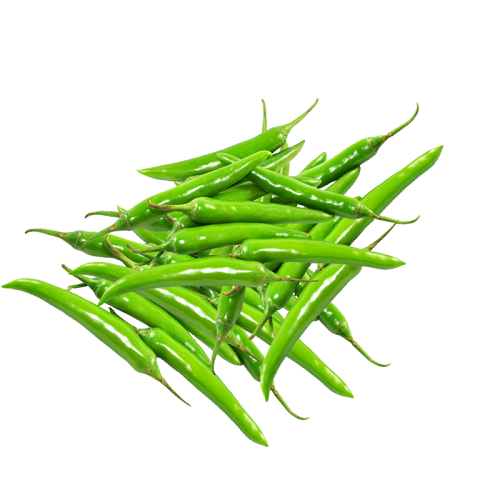 Green Chilli MVR 55/Kg