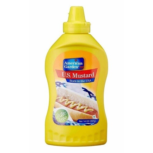 American Garden Mustard Cream 227g