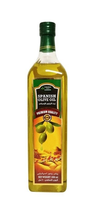 Virginia Green Garden Spanish Olive Oil 1L