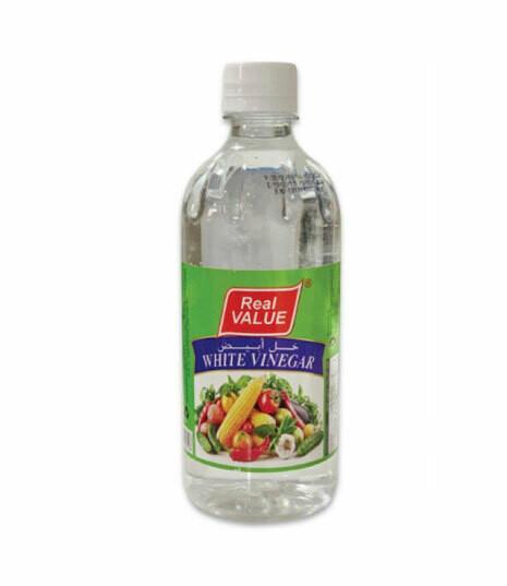 Real Value White Vinegar 473ml