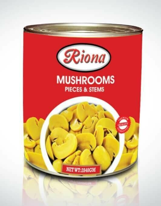 Riona Mushroom Slice & Stems
