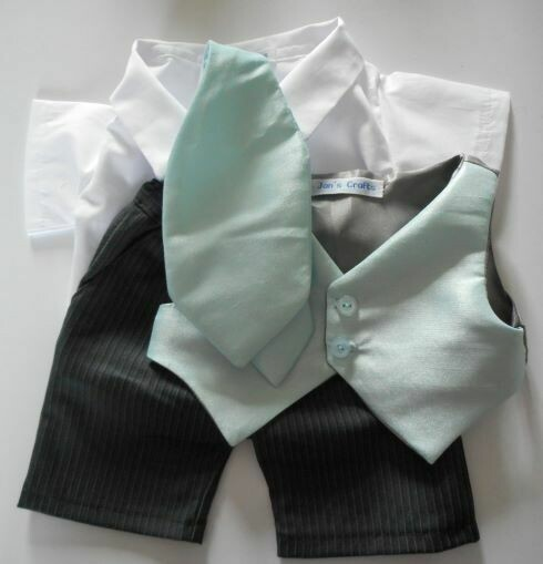 Outfit: 4 piece groom wedding outfit