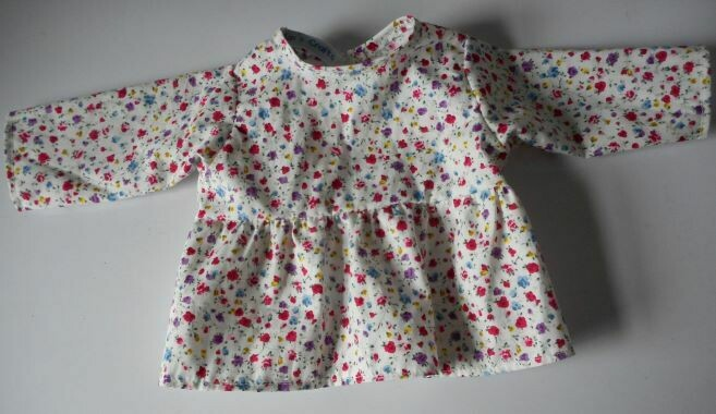 Top for dolls - Floral