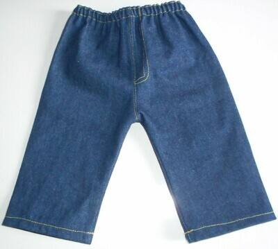 Jeans for dolls - blue denim