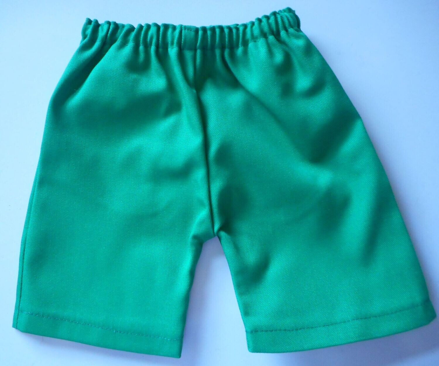 Trousers with side pockets - Bright green cotton drill