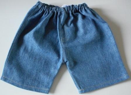 Jeans for bears-blue or dark blue denim