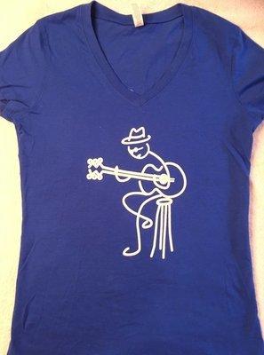 Blues Society Women's Short Sleeve V-Neck