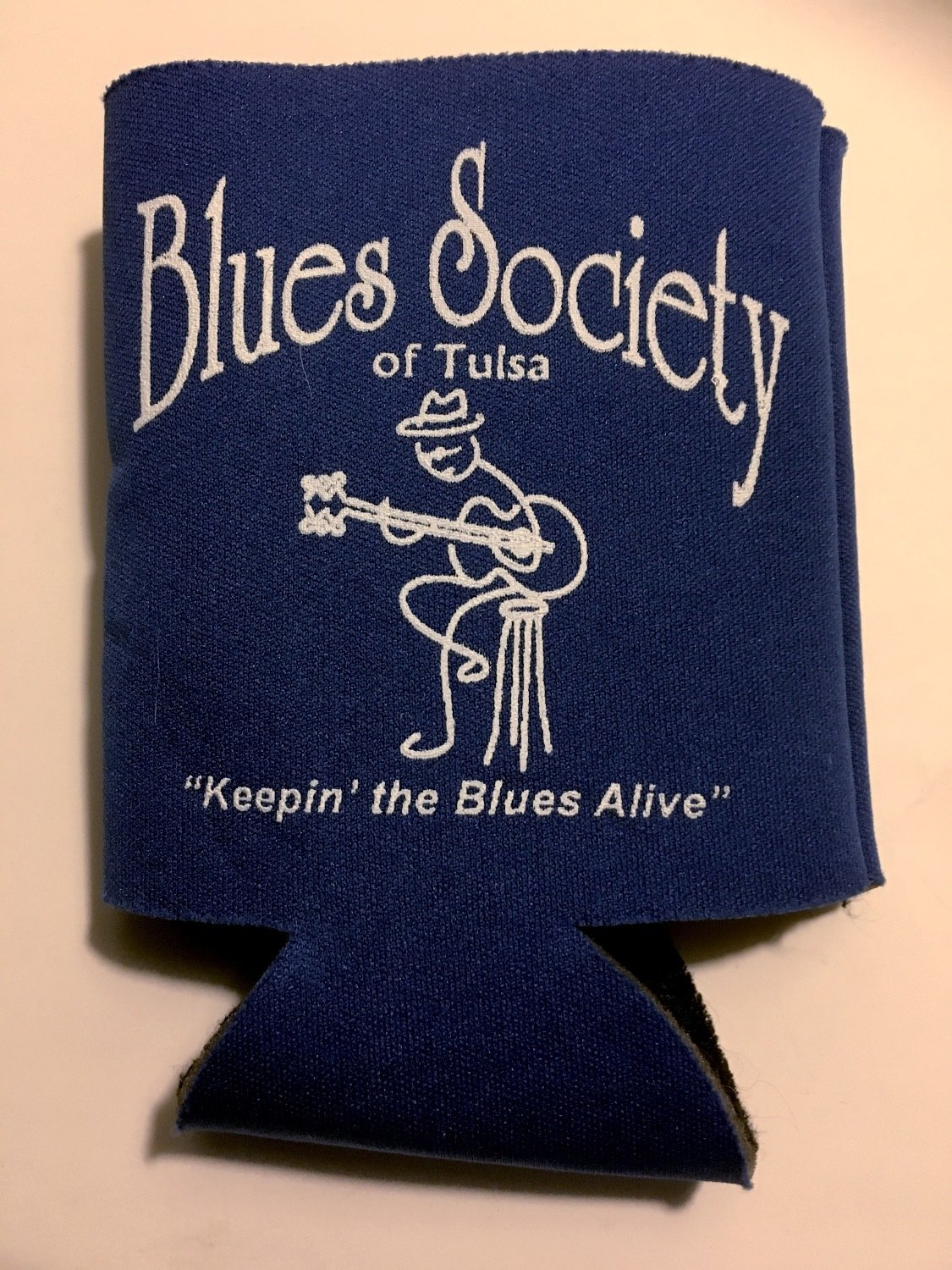 Blues Society Koozie - ROYAL BLUE