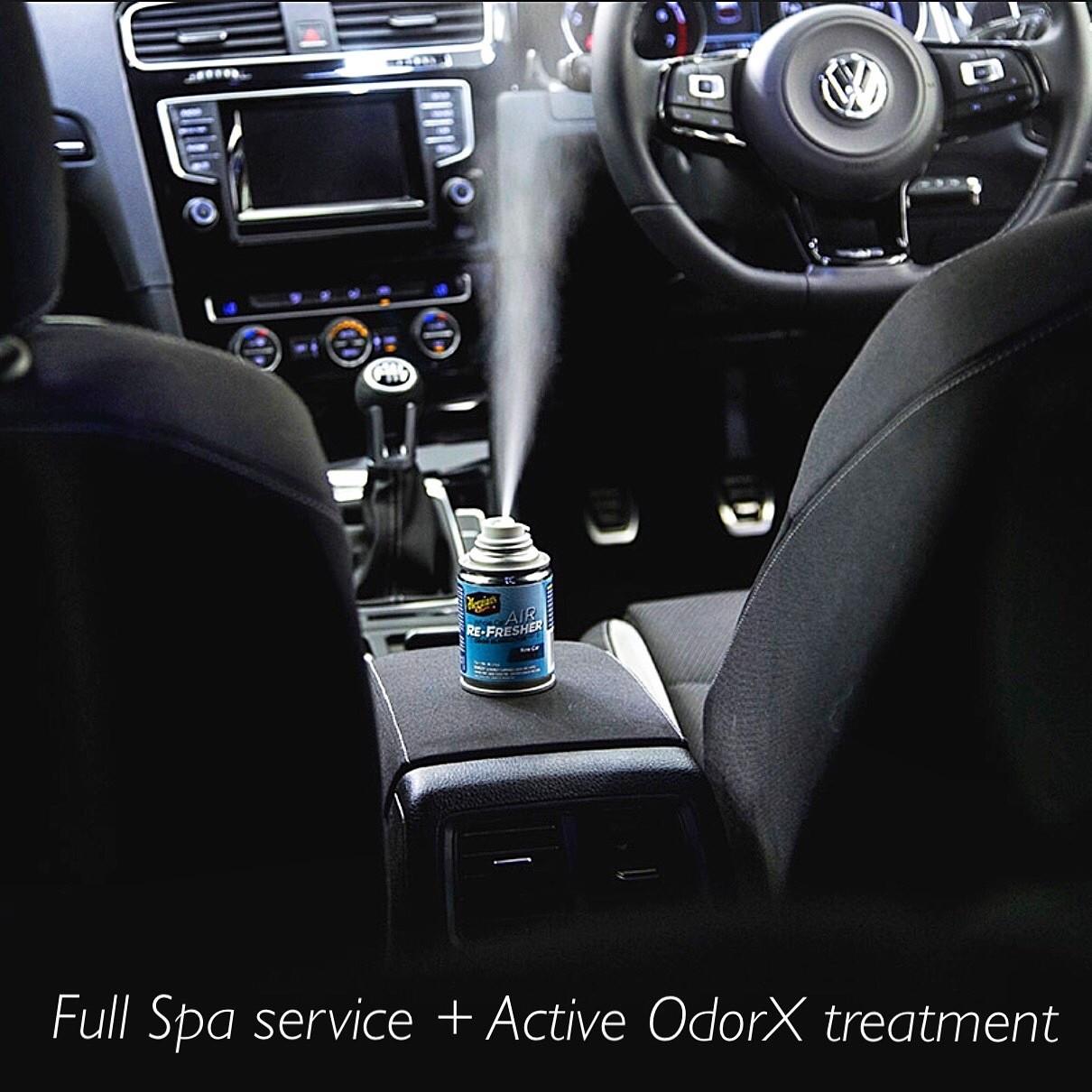 Interior Only: Full Steam + Active OdorX