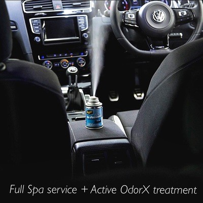 Interior Only: Full Steam + Active OdorX