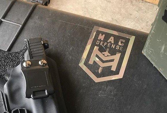 MAC DEF Decal