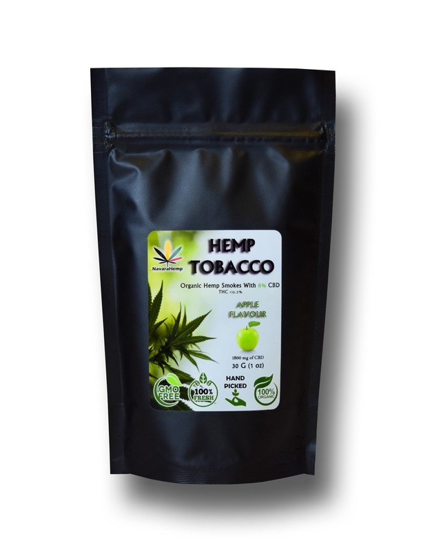 Hemp smokable - CBD smokes 30g - Apple flavor