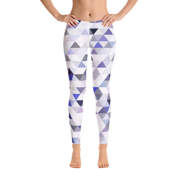 Leggings Blue Mosaic