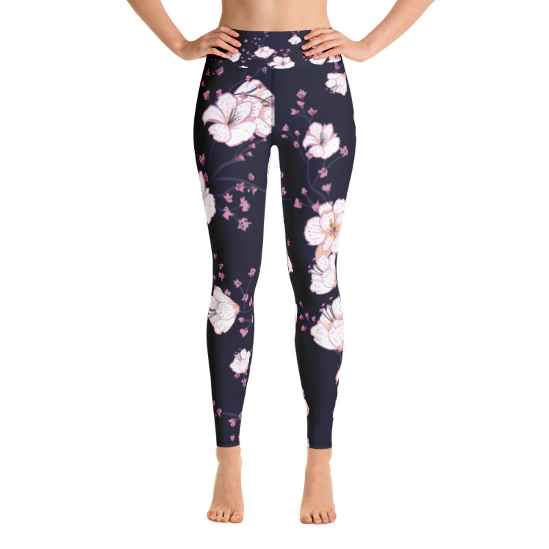 Yoga Leggings Floral