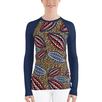 Women's Rash Guard Ethnic