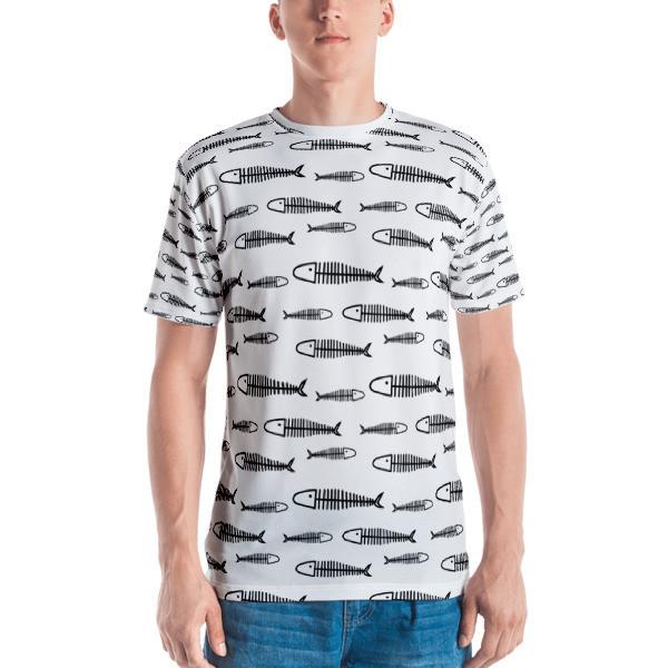 Men's T-shirt Fish Bones
