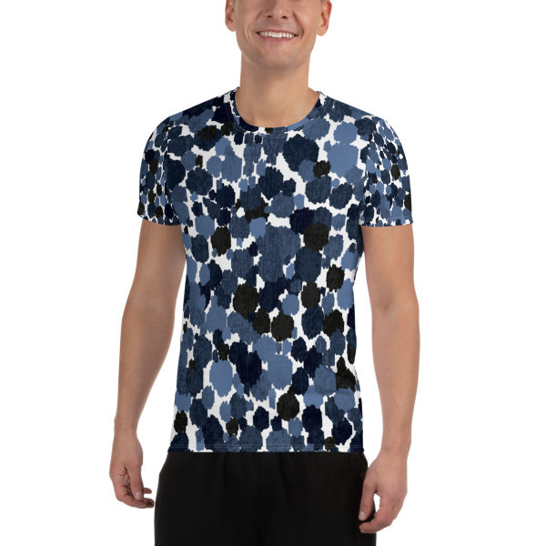 Athletic T-shirt Abstract