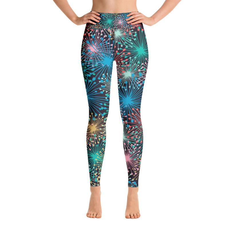 Yoga Leggings Fireworks