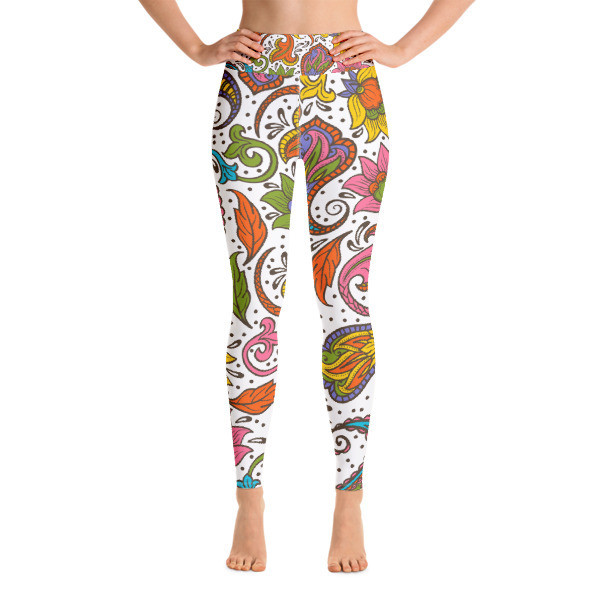 Yoga Leggings Floral