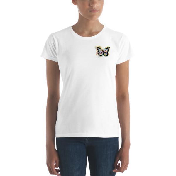 Women's T-shirt - Butterflies