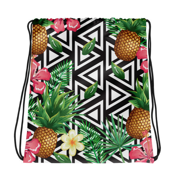 Drawstring Bag Pineapples