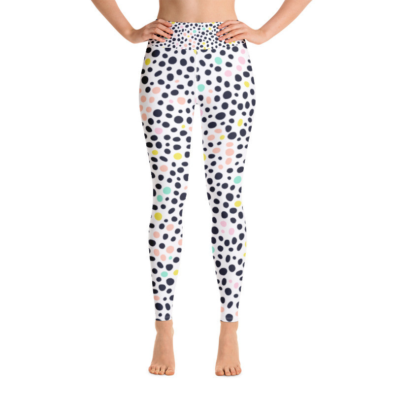 Yoga Leggings Dots