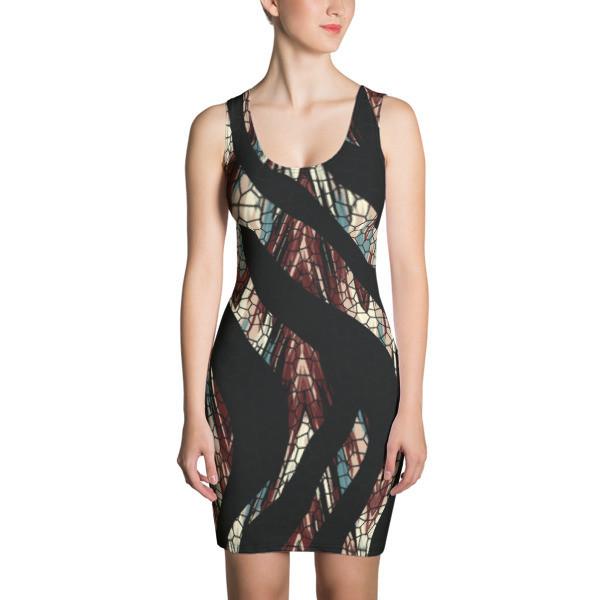 Women's Dress Mosaic