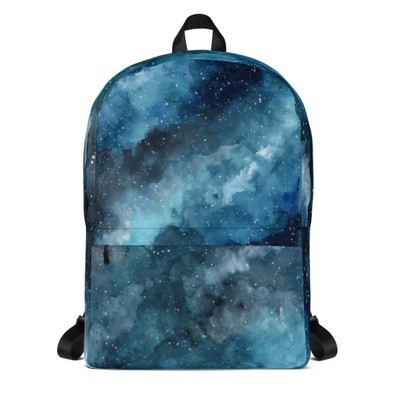 Backpack Watercolor Abstract
