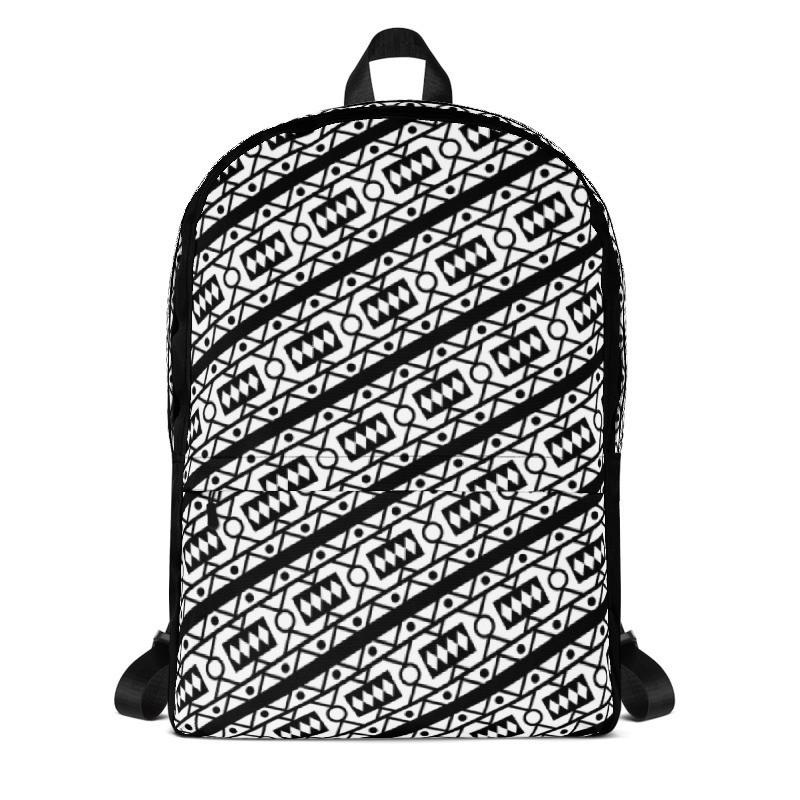 Backpack B/W Samacaca