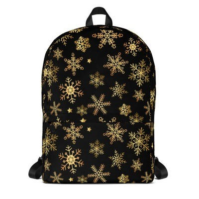 Backpack Snowflakes