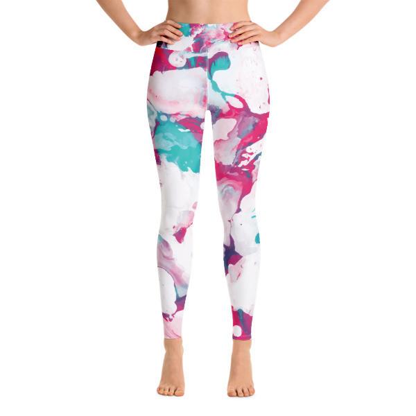 Yoga Leggings Watercolor