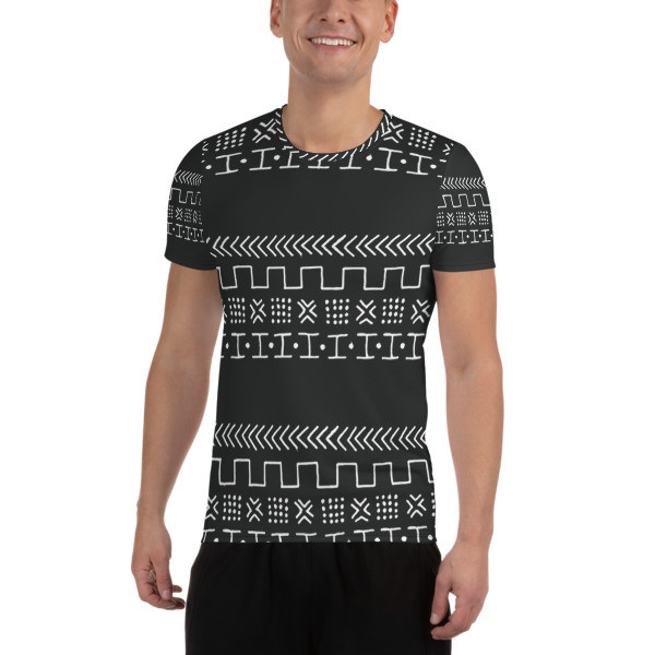 Men's Athletic T-shirt Ethnic