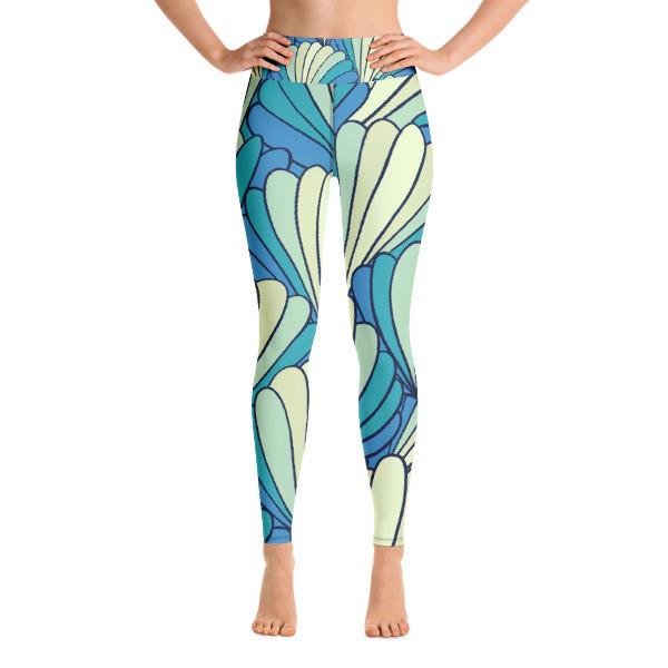 Yoga Leggings Abstract