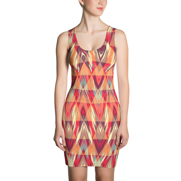Women's Dress Abstract