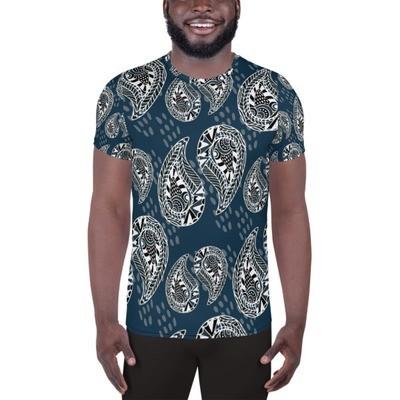 Athletic T-Shirt Ornaments