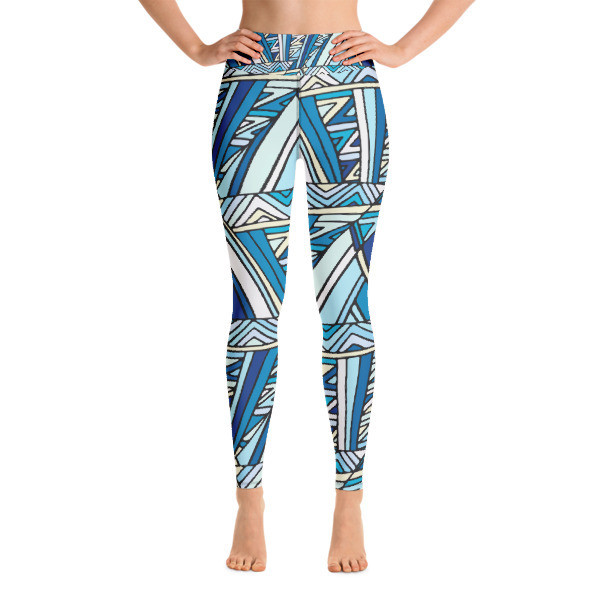 Yoga Leggings Abstract