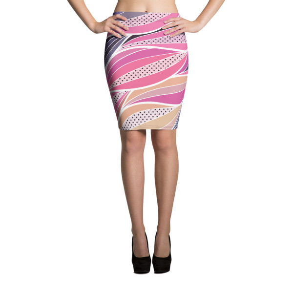 Pencil Skirt Abstract
