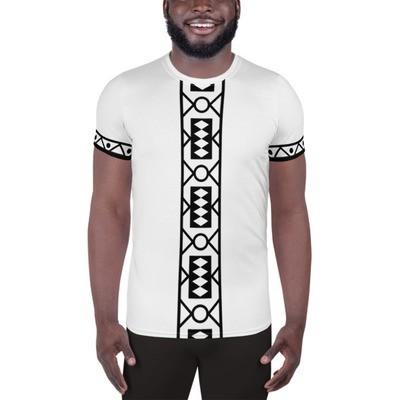Athletic T-shirt B/W Samacaca