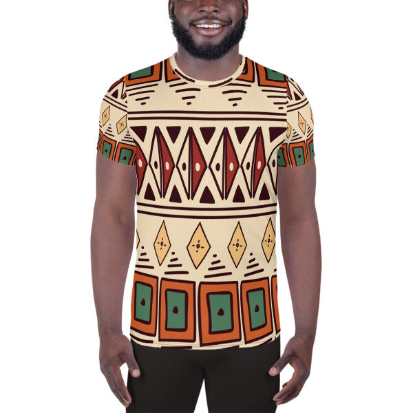 Athletic T-shirt Ethnic