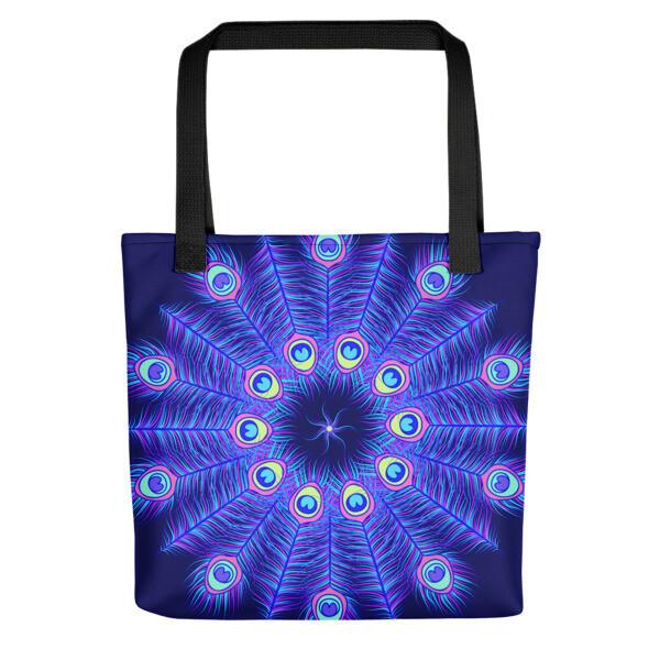 Tote Bag Peacock