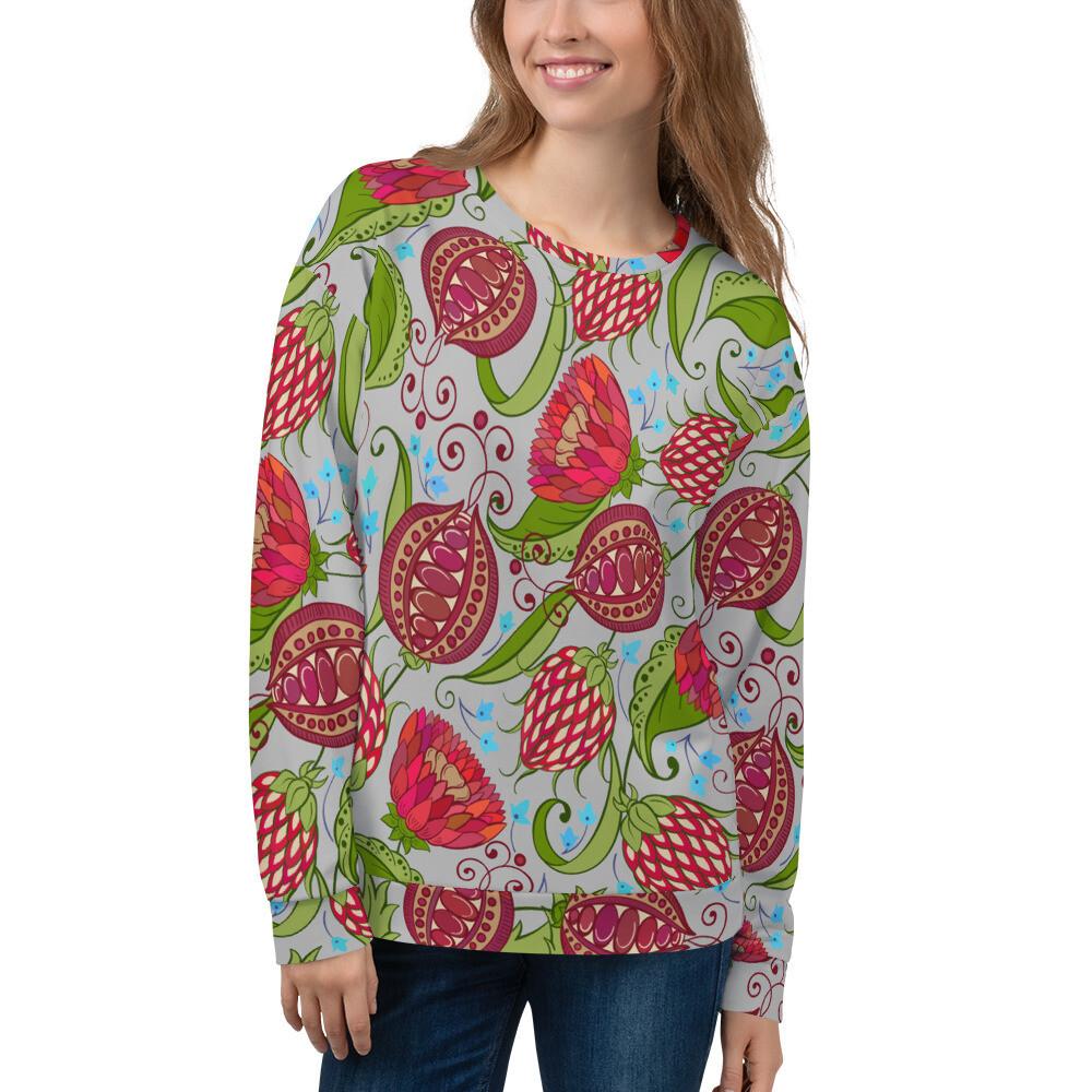 Women's Sweatshirt Floral