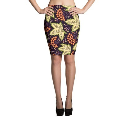 Pencil Skirt Floral