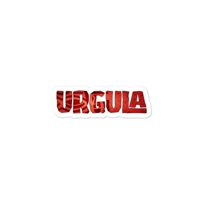 URGULA stickers RED